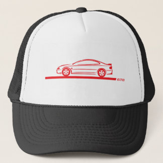 2004-06 GTO Red Car Trucker Hat