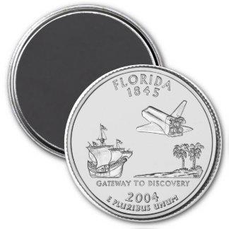 2004 Florida State Quarter magnet