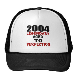 2004 LEGENDARY AGED TO PERFECTION TRUCKER HAT