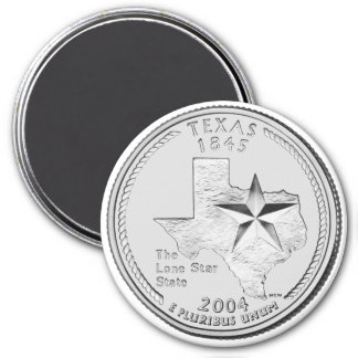 2004 Texas State Quarter magnet