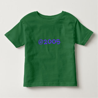 2005 2-Sided Toddler T-Shirt