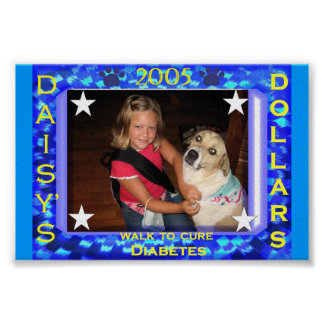 2005 Walk for Diabetes Poster