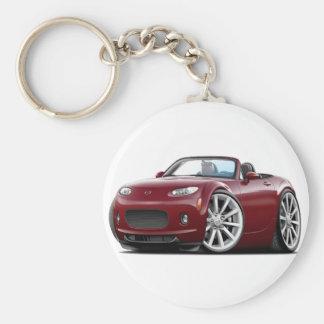 2006-08 Miata Maroon Car Keychain