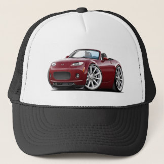 2006-08 Miata Maroon Car Trucker Hat