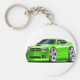 2006-10 Charger SRT8 Green Car Keychain