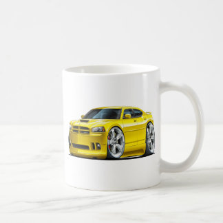 2006-10 Charger SRT8 Yellow Car Coffee Mug