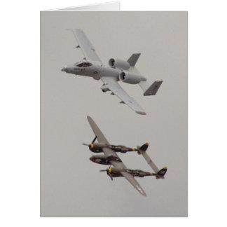 2006 Heritage Flight (View #1) Greeting Card