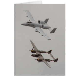 2006 Heritage Flight (View #1) Greeting Card