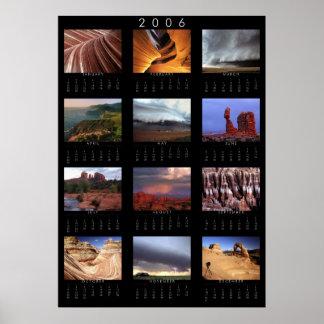 2006 Landscape Calendar Poster