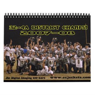 2007-2008 eejackets.com Calender Wall Calendar
