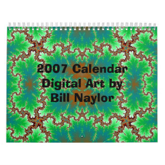 2007 Calendar Digital Art by Bill...
