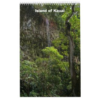 2007 Calendar:  Kauai Island Wall Calendar