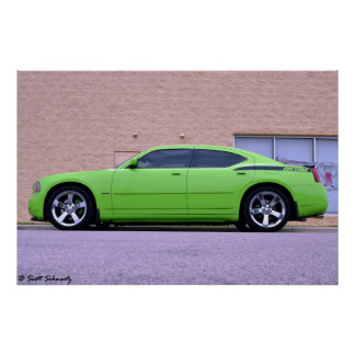 2007 Dodge Charger Daytona R/T Poster
