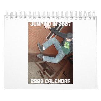 2007 Jumping...2008 Calendar
