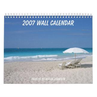 2007 Wall Calendar, photos by Mitch J... Wall Calendar