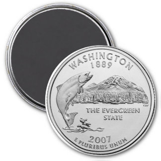 2007 Washington State Quarter Magnet