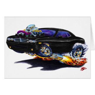 2008-10 Challenger Black Car Card