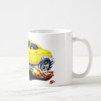 2008-10 Challenger Yellow Car Coffee Mug