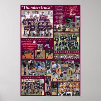 2008 10u Loudoun Longhorns Poster