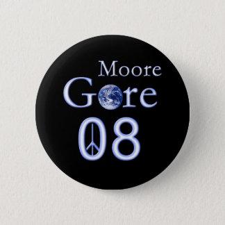 2008 Al Gore 2 Inch Round Button