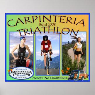 2008 Carpinteria triathlon Poster