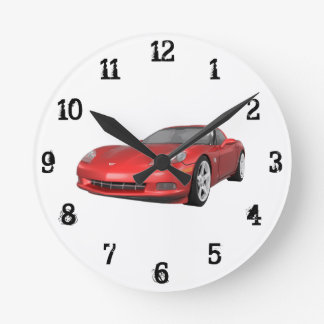 2008 Corvette: Wall Clock