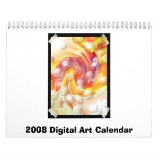 2008 Digital Art Calendar
