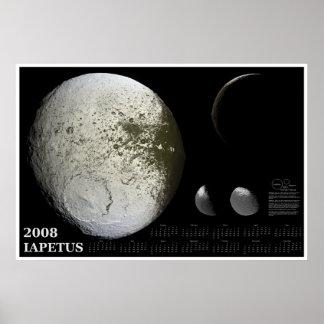 2008 Iapetus Calendar Poster