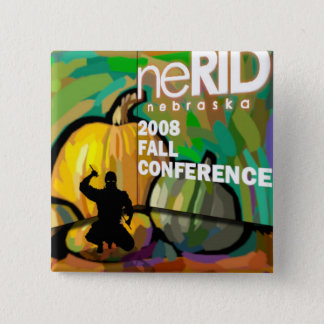 2008 neRID Fall Conference 2 Inch Square Button