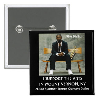 2008 Summer Breeze Concert Series 2 Inch Square Button