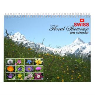 2008 Swiss Floral Showcase Calendar