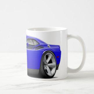 2009-11 Challenger RT Blue-Black Car Coffee Mug
