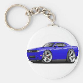 2009-11 Challenger RT Blue Car Keychain