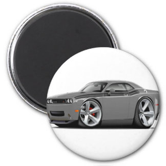 2009-11 Challenger RT Grey-Black Car 2 Inch Round Magnet