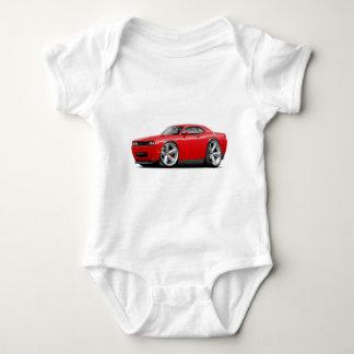 2009-11 Challenger RT Red Car Baby Bodysuit