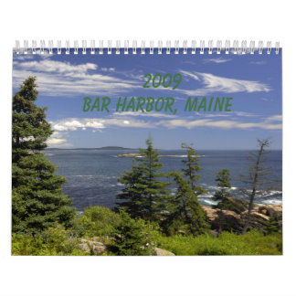 2009 Bar Harbor, ME Wall Calendars