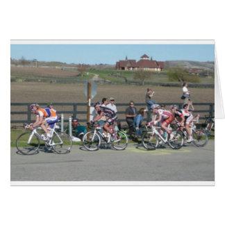2009 Bike Race California Card