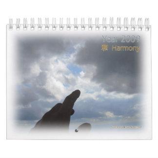 2009 Calendar. Harmony Wall Calendar