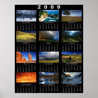 2009 Calendar Poster