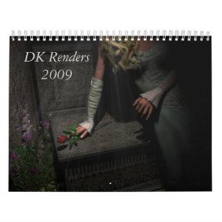 2009 Calender Wall Calendar