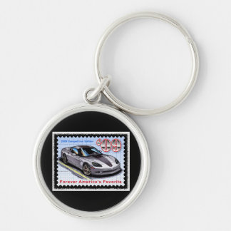 2009 Competition  Edition Corvette Keychain
