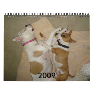 2009 Dog Calendar - Customized - C... - Customized