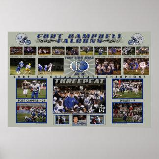 2009 End of Season FC Falcons Poster