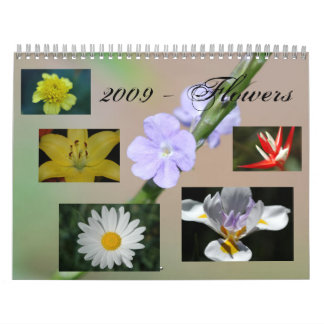 2009 - Flowers Calendars