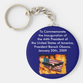 2009 Inauguration Commemorative Collection Keychain