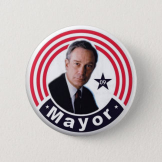 2009 Mayor Bloomberg Button