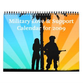2009 Military Love & Support Calendar