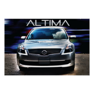 2009 Nissan Altima Poster
