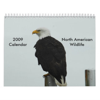 2009  North American Wildlife Calendar