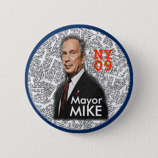 2009 NY Mayor MIKE pin